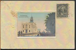 °°° 10978 - CILE CHILE - VALPARAISO - GOBERNACION MARITIMA - 1910 With Stamps °°° - Cile