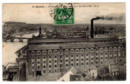 CPA Corbeil Essonnes 91 Essonne Les Grands Moulins Le Moulin Prise De La Tour Silos Blé éditeur HS N°46l - Corbeil Essonnes