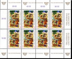 Österreich Tag Der Briefmarke 1994 Trilaterale Gmunden 95 - Kpl Bogen Postfrisch - 1945-.... 2ème République