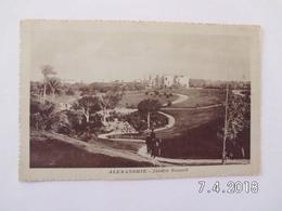 Alexandria. - Jardin Nouzah. - Alexandria