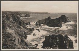 Kynance Cove And Old Lizard Head, Cornwall, C.1930s - RP Postcard - England