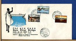 ETIOPIA - ETHIOPIA - FDC 1981 - BARO RIVER BRIDGE - Etiopia