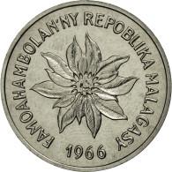 Monnaie, Madagascar, 5 Francs, 1966, Paris, SUP+, Stainless Steel, KM:E8 - Madagascar