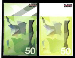 """ATM Test Note """"WINCOR NIXDORF Schweden"""", 50 SEK, Beids. Druck, RRRRR, UNC - Schweden"""