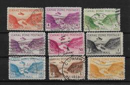 Canal De Panama 1931-43 Y 1946-49  Correo Aereo - Panama