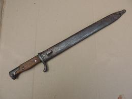 """Baïonnette Allemande ."""" Mauser """"  état Moyen . - Knives/Swords"""
