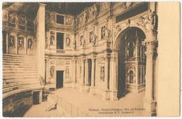 VICENZA - Teatro Olimpico, Disegno Del Palladio, Esecuzione Di V. Scamozzi FP NV - Vicenza