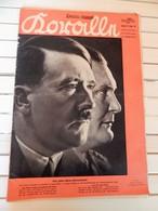 Old German Magazine, Front Page Adolf Hitler, 1937 - 1939-45