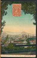 °°° 10981 - CILE CHILE SUR - SANTIAGO - VISTA DESDE EL CERRO SANTA LUCIA - 1913 With Stamps °°° - Cile