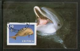 Eritrea 2001 Fish Marine Life Animals M/s Cancelled # 3956 - Marine Life