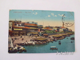 Port Said. - The Port. - Port Said
