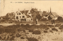LA PANNE --  Chapelle St-Joseph - De Panne