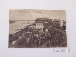 Port Said. - Entrance To The Canal. (10 - 9 - 1916) - Port Said