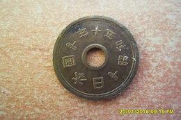 """Monnaie Asiatique à""""trou"""" à Déterminer En TTB - Chine"""