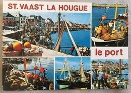 Saint Vaast La Houghe Différents Aspects Du Port - Saint Vaast La Hougue