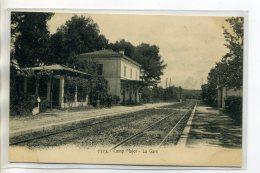 13 AUBAGNE CAMP MAJOR  2325 Lacour- La Gare Des Voyageurs Quai Voies De Chemin De Fer -1904    /D04-S2017 - Aubagne