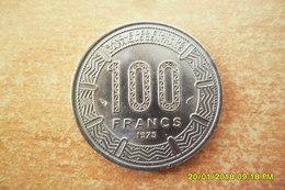 Monnaie De 100 Francs Du Cameroun Dde 1975 En Etat SUP - Cameroun