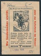 D. Reich - Abo-Tüte Der Reichspost ~ 1944 - Deutschland