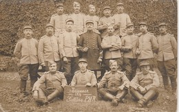 NIORT -  Militaires - Souvenir 1914  - Selliers PHR  ( Carte-photo ) - Niort