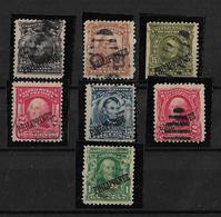 Filipinas Admistracion Americana 1904 Serie Incompleta Sellos De Estados Unidos - Filipinas