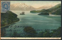 °°° 10986 - CILE CHILE - ESTRECHO DE MAGELLANES - With Stamps °°° - Cile