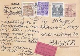 Austria Express Stationery Wien 1969 - Stamped Stationery