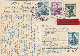Austria Express Stationery Graz 1957 - Stamped Stationery
