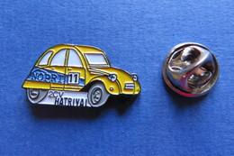 Pin's, Voiture, Auto, Citroën, 2CV, Ente, Nopri 11, Hatrival - Citroën