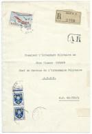 CARTE EN RECOMMANDE / ORAN ALGERIE 1959 / SP 86.730/A - Algeria (1924-1962)