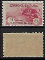 """FR YT 231 """" Orphelins Carmin"""" 1926-27 Neuf** - France"""
