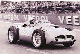 Grand Prix De France (Reims) 1956  -  Maurice Trintignant  -  Bugatti Type 251  -  15x10 PHOTO - Grand Prix / F1