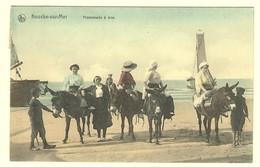 #10191[Postkaart] Knocke-sur-Mer / Promenade à âne. / Nels / Edition: Ad. Van Kerschaver [knokke Heist Wandeling Met Op - Knokke