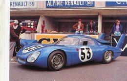 Panhard-CD Peugeot 66C - 24 Heures Du Mans 1967 - Pilots:André Guilhaudin/Alain Bertaut  -  15x10 PHOTO - Le Mans