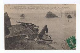 Catastrophe De Montreuil Bellay. 23 Nov. 1911. Train Tombé Dans Le Thouet. (2719) - Montreuil Bellay