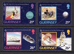 GUERNSEY - 1991 EUROPA SPACE SET (4V) SG 520-523 FINE MNH ** - Europa-CEPT