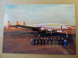 AIR CEYLON   SUPER CONSTELLATION  PH LDP - 1946-....: Modern Era