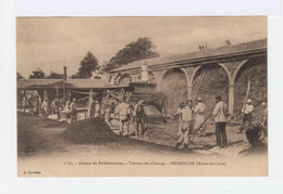 Bégrolles. Maine Et Loire. Abbaye De Bellefontaine. Travaux Des Champs. Batteuse. (2722) - Cultures