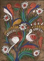 Peinture Sur Papier Artisanal A Base D'escrément D' Elephant ( Inde ) - Asian Art