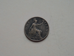 1898 - 1 Penny / KM 790 ( For Grade, Please See Photo ) ! - 1816-1901 : Frappes XIX° S.