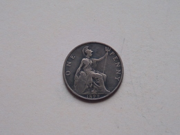 1899 - 1 Penny / KM 790 ( For Grade, Please See Photo ) ! - 1816-1901 : Frappes XIX° S.