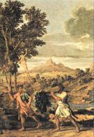 [MD1488] CPM - NICOLAS POUSSIN - 1594 1665 - L'AUTUNNO - PARTICOLARE - PARIGI - LOUVRE - NV - Pittura & Quadri