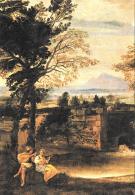 [MD1490] CPM - ANNIBALE CARRACCI - 1560 1609 - PAESAGGIO PARTICOLARE- BERLINO - STAATLICHE MUSEEN - NV - Pittura & Quadri