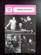 LES FICHES DE MONSIEUR CINEMA France GEORGES VAN PARYS - Publicidad