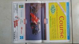 Journal De Presentation De La Course De Cote Du Mont Dore / Chambon Sur Lac 1992 - Newspapers