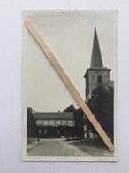 GENAPPE- BOUSVAL «L'EGLISE»Photo- Carte ,panorama (1948). - Genappe