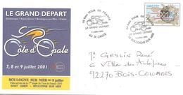 2001 Départ Du Tour De France :Saint-Omer / Boulogne  PAP - Ciclismo
