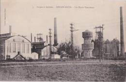 Bp - Cpa DENAIN ANZIN (Nord) - Les Hauts Fourneaux - Forges Et Aciéries - Denain