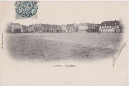 Bp - Cpa Carvin (Pas De Calais) - Grand'Place - France