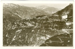1900's, Norway- Flaamsdalenmot Vatnahalsen, Bergensbanen, Real Photo Pc, Unused. - Norvège