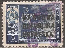 1945 - Hrvatska Taksena Marka - Used Stamps